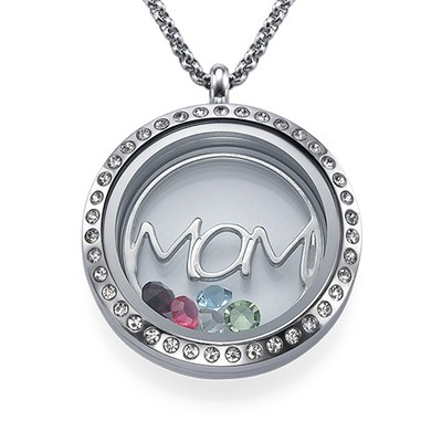 MOM Charm-Medaillon
