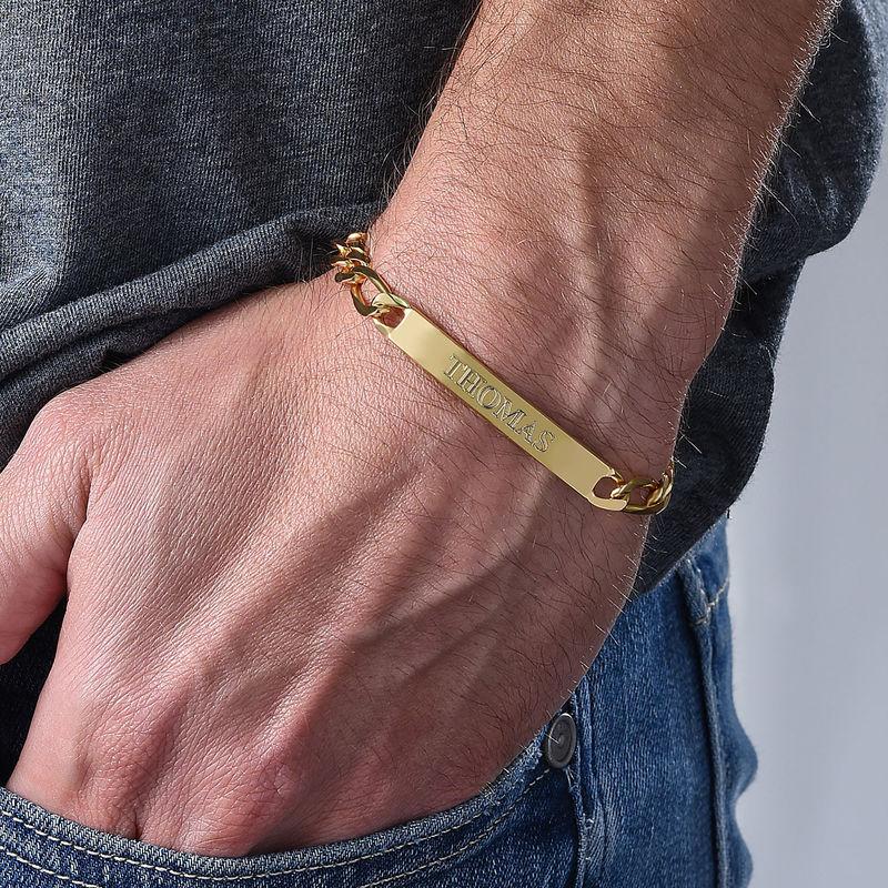 Graviertes ID-Armband für Männer - 3