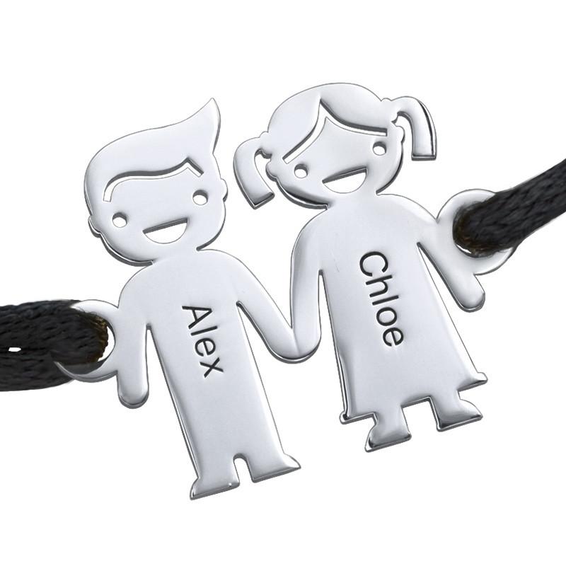 Kinder händehaltendes Armband mit Gravur - 1