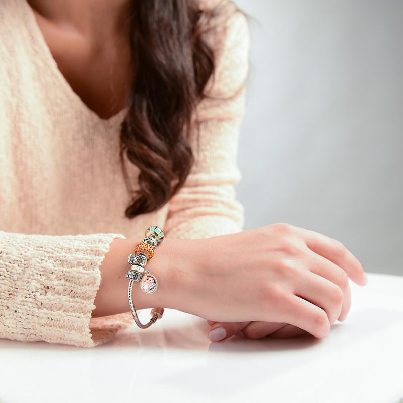 Schlangen Armband aus Silber - 1