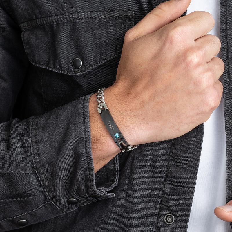 Herren-ID-Armband aus Edelstahl - 3