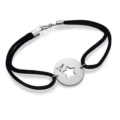 Armband mit ausgeschnittenem Stern