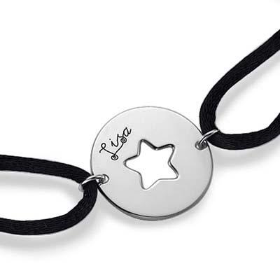 Armband mit ausgeschnittenem Stern - 1