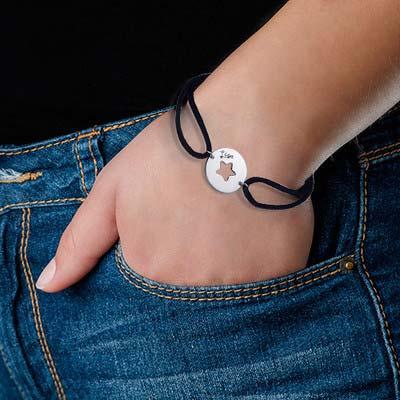 Armband mit ausgeschnittenem Stern - 2