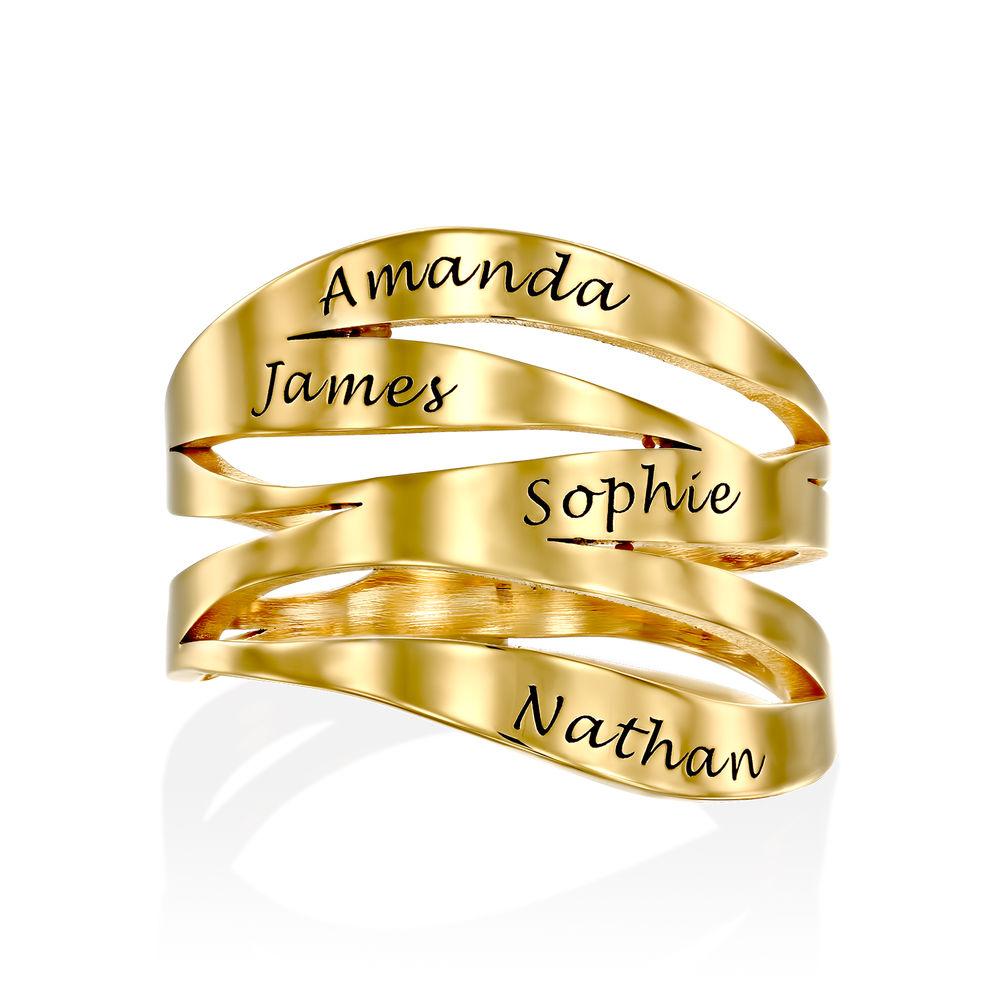 Margeaux Ring mit Namen - mit 750er Vergoldung - 1