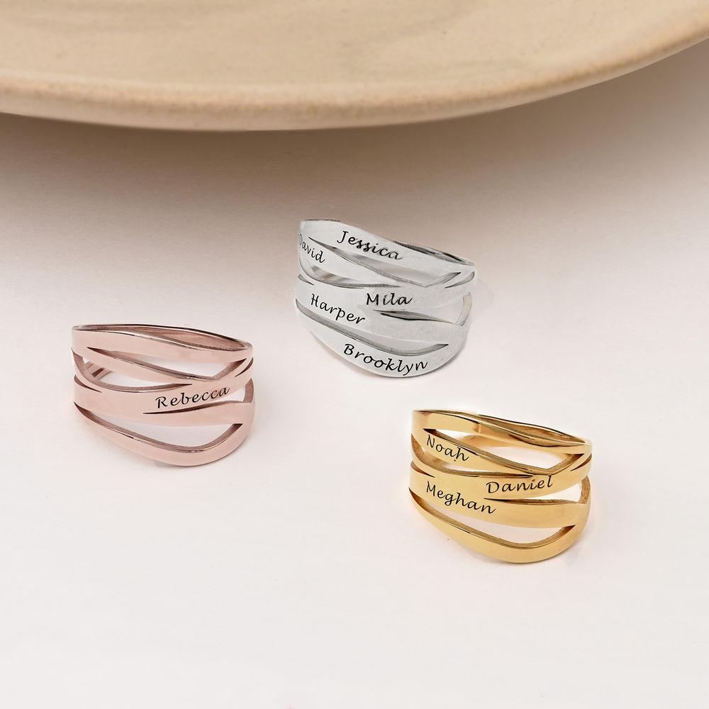 Margeaux Ring mit Namen - mit 750er Vergoldung - 2
