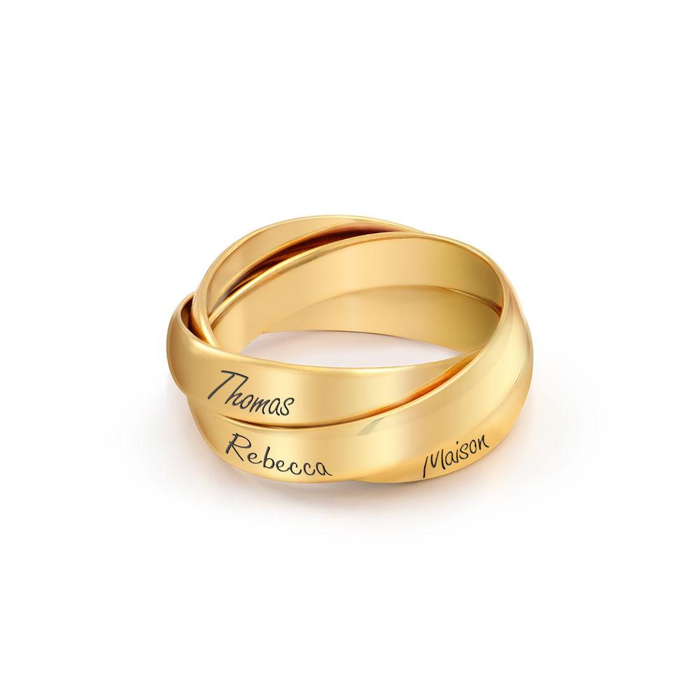 Charlize Russische Ring aus 750er vergoldetes 925er Silber