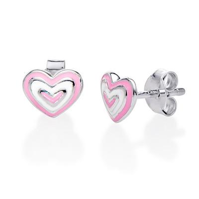 Herz Ohrringe für Kinder