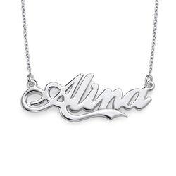 925 Silber Namenskette in Coca-Cola Schrift product photo