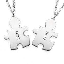 Gravierte Puzzleteile als Freundschaftskette product photo