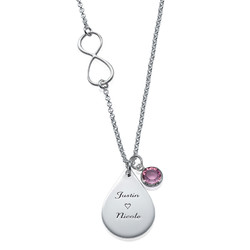 Infinity-Kette mit Charms product photo