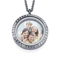 Medaillon-Fotokette für Mama product photo