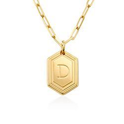 Cupola Glieder-Halskette mit Vergoldung Produktfoto
