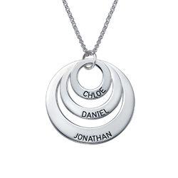 Kette mit drei Ringen für Mütter product photo