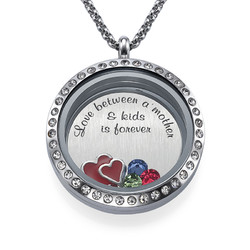 Ich liebe meine Kinder Charm-Medaillon product photo