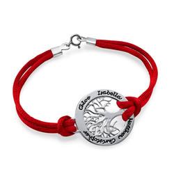 Stammbaum Armband aus Silber product photo