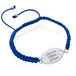 Armband mit ovaler gravierbarer Scheibe product photo