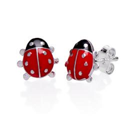 Marienkäfer Ohrringe für Kinder product photo