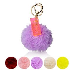 Personalisierter Pompon & Handtaschenanhänger Produktfoto