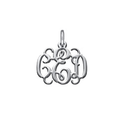 Silber Monogramm Charm product photo