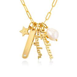 Siena Barrenketten Halskette in Vergoldung Produktfoto