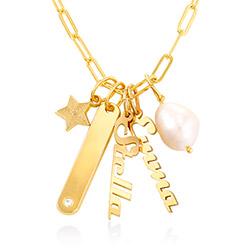 Siena Barrenketten Halskette in Gold-Vermeil Produktfoto