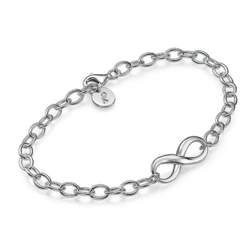 unendlichkeit armband silber
