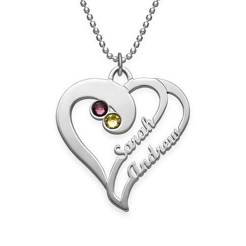Doppelherz-Halskette - Meine ewige Liebe Kollektion