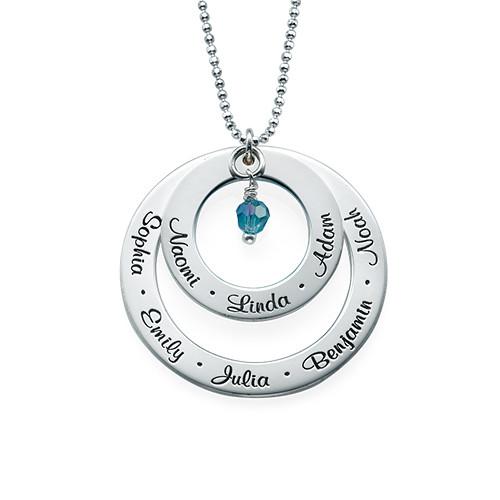 Geburtsstein Halskette für Großmütter