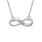 Gravierbare Infinity - Unendlich Halskette