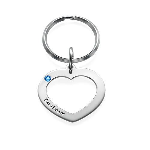 Herz Schlüsselanhänger für Pärchen - 1