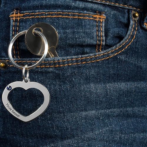 Herz Schlüsselanhänger für Pärchen - 3