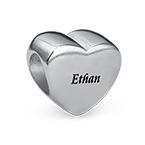 Herzförmige Charm-Perle