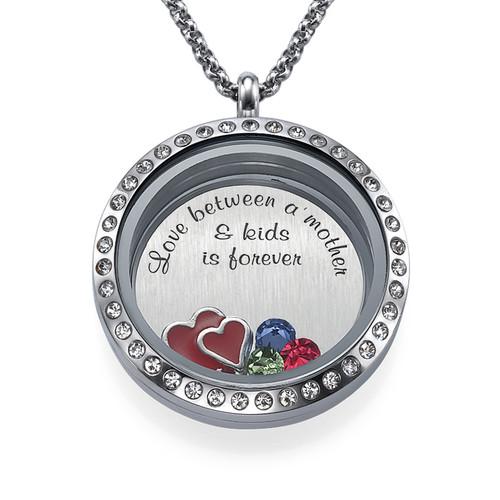 Ich liebe meine Kinder Charm-Medaillon