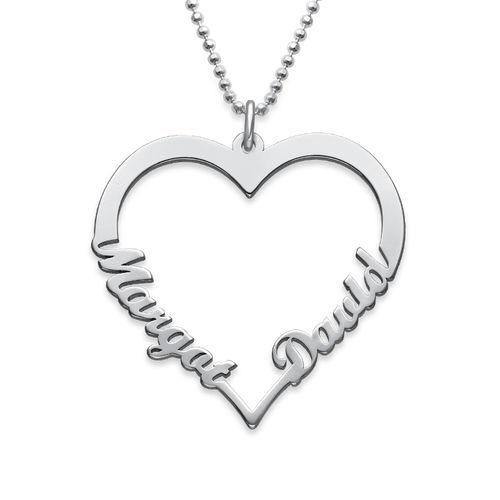 Individualisierbare Herzkette - Meine ewige Liebe Kollektion