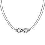Infinity - Unendlich Anhänger aus 925er Silber