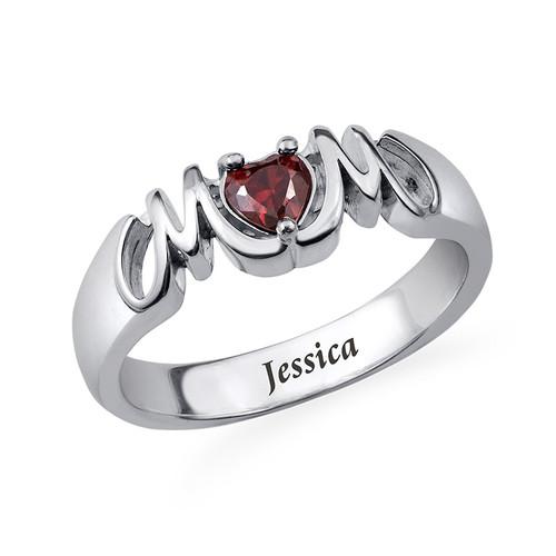 Klassischer Mom Ring mit gravierbarer Innenseite