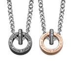 Kreisrunder Sie&Er-Halskette