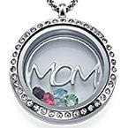 MOM Charm-Medaillon