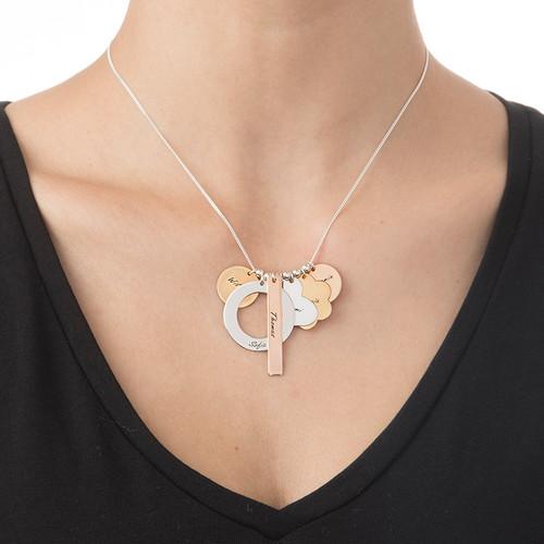 Personalisierte Mutterkette aus diversen Metallen - 1