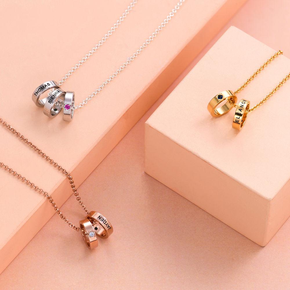 Ringkette für Mütter mit Gravur - 2