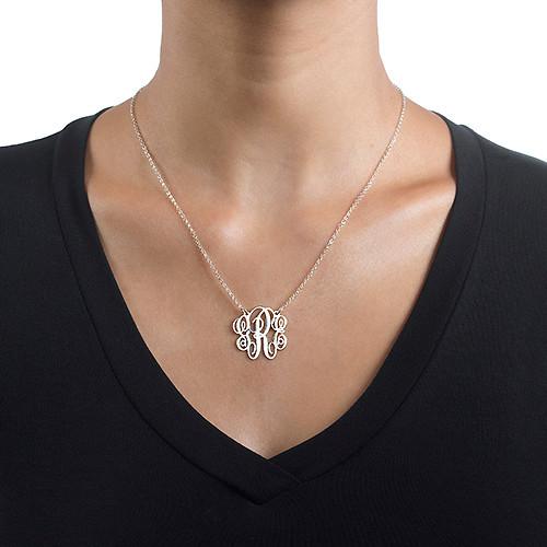Schicke Monogramm Halskette - 1