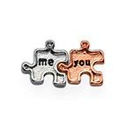 You & me Puzzle für Charm Medaillon