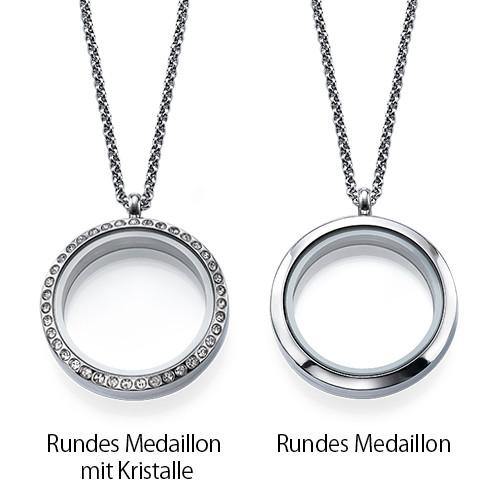 Zum Mond und zurück Charm-Medaillon - 2