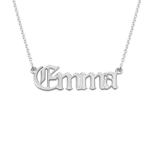 Gothic-Namenskette im altenglischen Stil