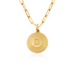 Odeion Initial-Halskette in Gold-Vermeil product photo