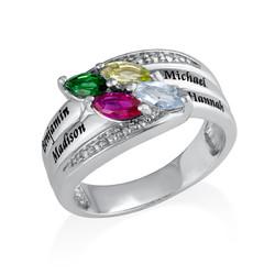 Geburtsstein-Ring für Mütter product photo