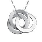 Russische Ring Halskette