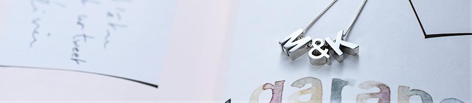 Buchstabenkette - Initialen Kette