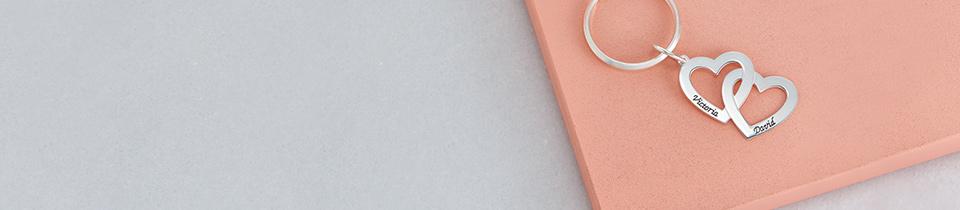 personalisierter schlüsselanhänger